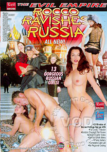 Rocco Ravishes Russia Box Cover