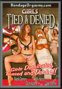 Girls Tied & Denied Box Cover - Login to see Back