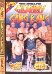 The Ultimate Granny Gang Bang Box Cover