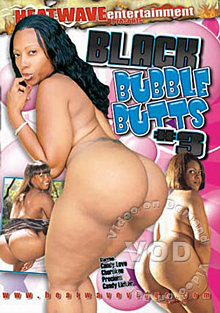 Black Bubble Butts #3 Box Cover