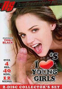 I Love Young Girls #5 (Disc 2) Box Cover