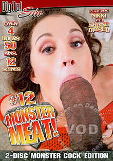 Monster Meat! #12 (Disc 1) Box Cover