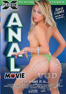 Anal Movie Box Cover