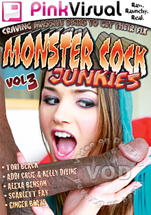 Monster Cock Junkies Vol 3 Box Cover