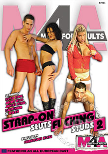 Strap-On Sluts Fucking Studs 2 Box Cover