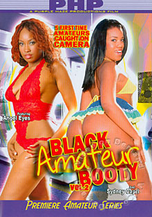 Black Amateur Booty Vol 2 Box Cover