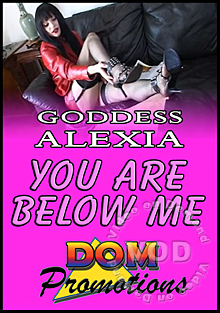 Goddess Alexia - You Are Below Me Box Cover