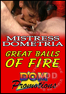 Mistress Dometria -  Great Balls Of Fire Box Cover