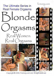 Blonde Orgasms Box Cover