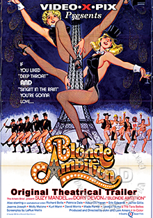 Blonde Ambition - Original Theatrical Trailer Box Cover