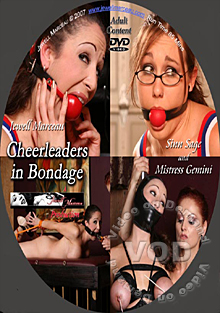 Cheerleaders In Bondage Box Cover
