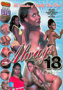 Always 18 Black Box Cover
