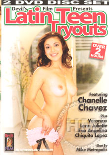 Latin Teen Tryouts Box Cover