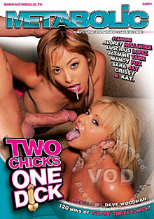 Two Chicks One Dick Box Cover