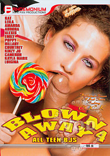 Blown Away 4 - All Teen BJ's Box Cover