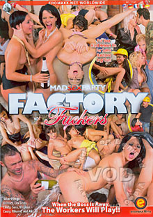Mad Sex Party - Factory Fuckers Box Cover - Login to see Back