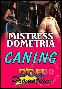 Mistress Dometria - Caning Box Cover