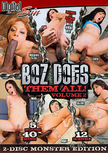 Boz Does Them All! Volume 2 (Disc 1) Box Cover