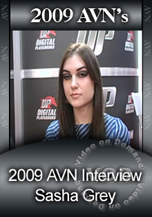 2009 AVN Interview - Sasha Grey Box Cover