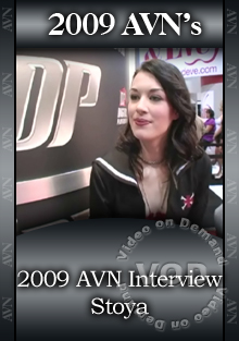 2009 AVN Interview - Stoya Box Cover