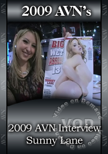 2009 AVN Interview - Sunny Lane Box Cover