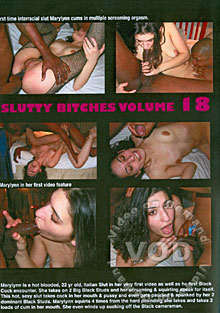 Slutty Bitches Volume 18 Box Cover