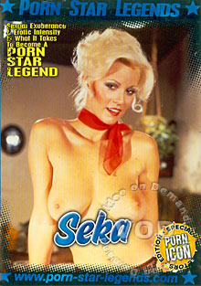 Porn Star Legends - Seka Box Cover