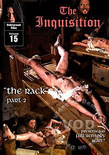 The Inquisition 15 - The Rack Part 2 Box Cover