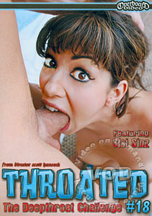 Throated #18 Box Cover