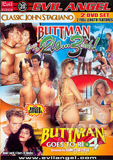 Buttman Goes To Rio 3 Box Cover
