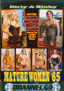 Dirty & Kinky Mature Women 65 Box Cover