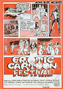 Erotic Cartoon Festival Box Cover