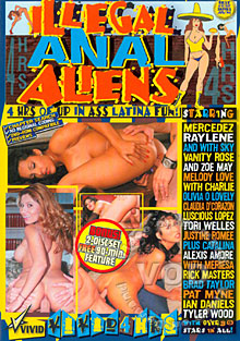 Illegal Anal Aliens Box Cover - Login to see Back