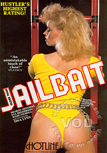JAILBAIT, the Original Uncut Classic Box Cover