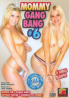 Mommy Gang Bang #6 Box Cover