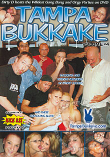 Tampa Bukkake Volume #4 Box Cover