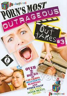Porn's Most Outrageous Outtakes #3 Box Cover