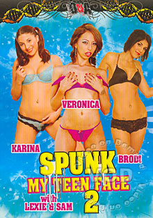 Spunk My Teen Face 2 Box Cover