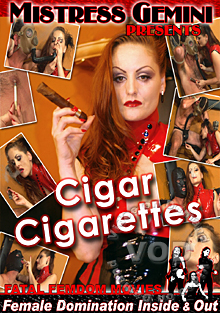 Cigar Cigarettes Box Cover