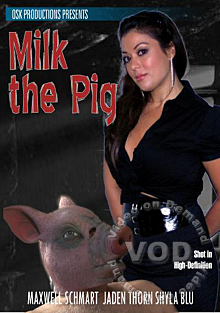 Milk The Pig Box Cover