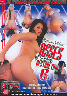 Asses Of Face Destruction 6 Box Cover