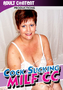 Cock Sucking MILF CC Box Cover
