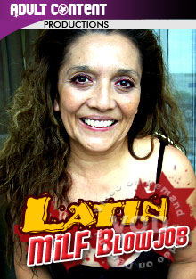 Latin MILF Blowjob Box Cover