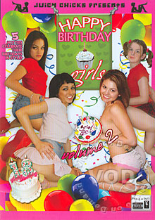 Happy Birthday Girls Volume 2 Box Cover