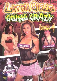 Latina Girls Going Crazy Volume 4 Box Cover