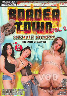 Border Town Shemale Hookers 2 - The Smell Of Asshole Box Cover