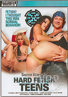 Hard Fetish Teens Box Cover