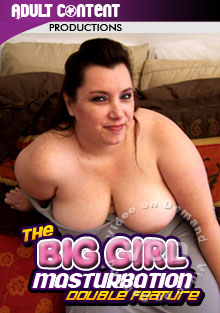 The Big Girls Masturbation Double Feature Box Cover