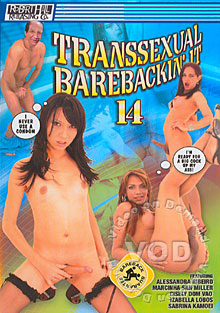 Transsexual Barebackin' It 14 Box Cover