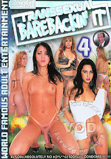 Transsexual Barebackin' It 4 Box Cover